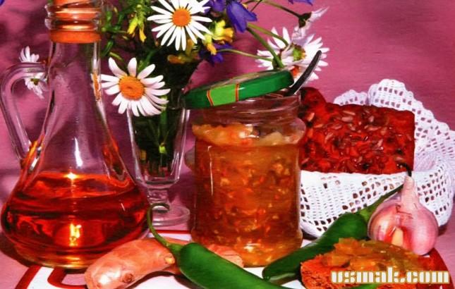 Рецепт Соус из зеленых помидоров