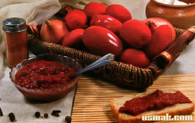 Рецепт Томатная паста на зиму