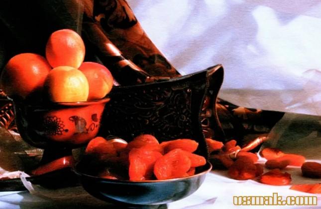 Рецепт Сушеный абрикос (курага)