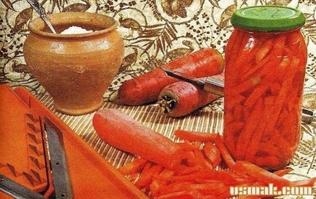 Рецепт Морковь соленая