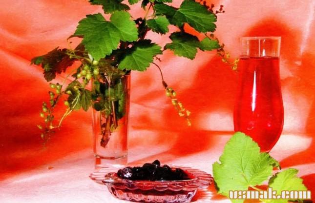 Рецепт Сок черной смородины на зиму
