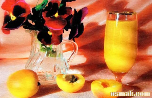 Рецепт Абрикосовый сок