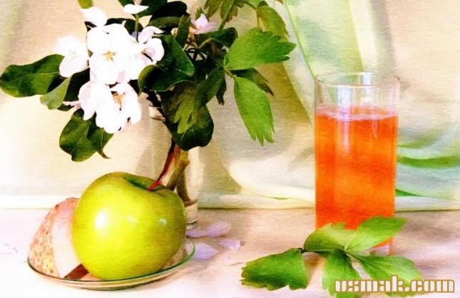 Рецепт Сок сельдерея с яблоком