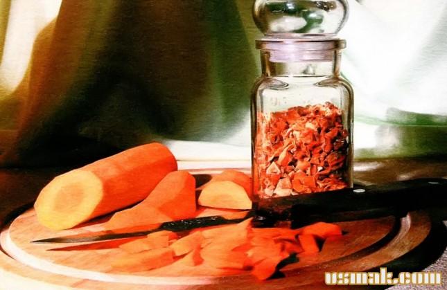 Рецепт Сушеная морковь