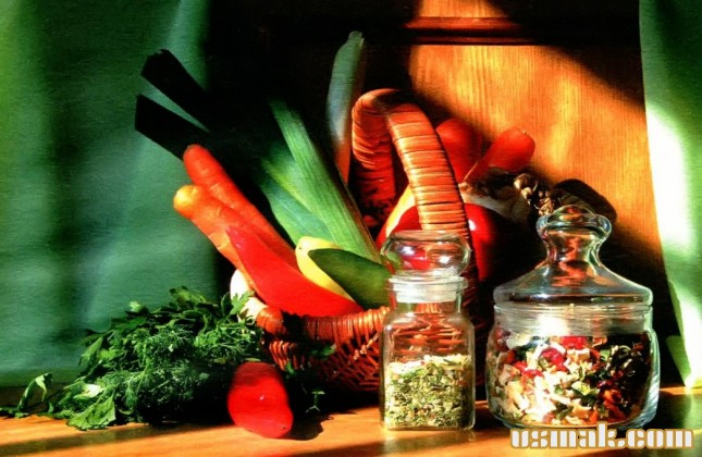 Рецепт Сушеные овощи