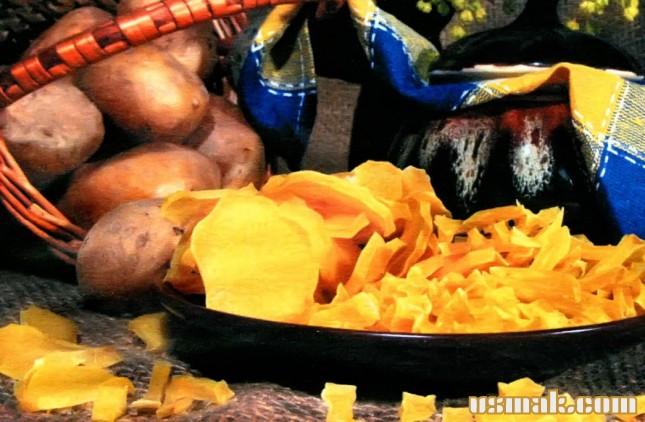 Рецепт Сушеный картофель