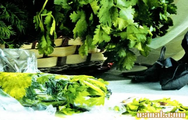 Рецепт Как заморозить зелень