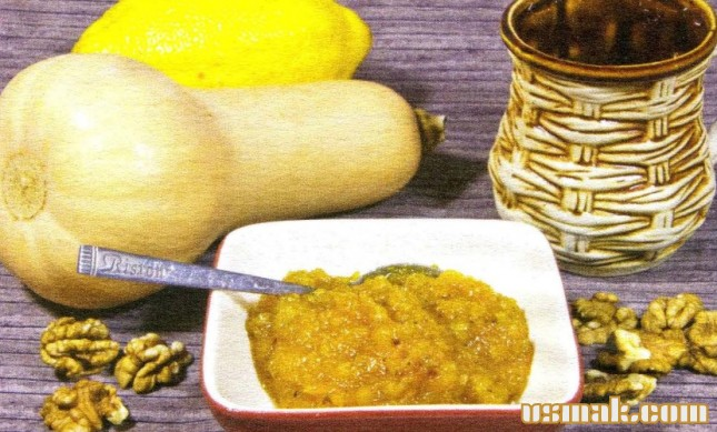 Рецепт Тыквенный джем с орехами