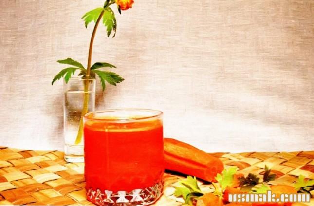 Рецепт Сок морковный на зиму