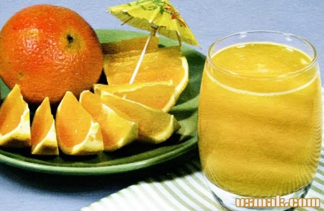 Рецепт Апельсиновый сок
