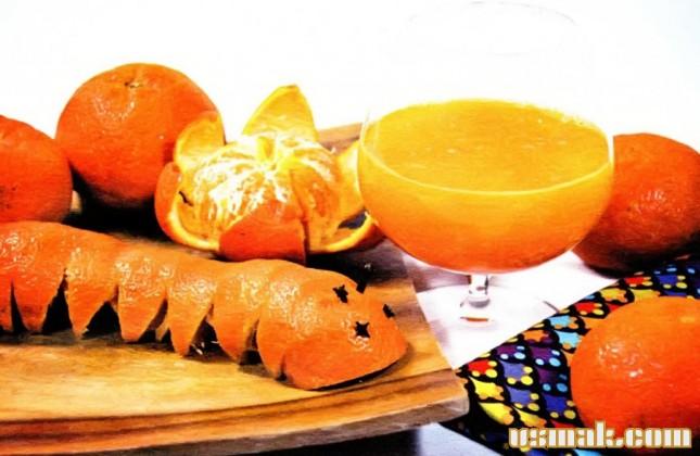 Рецепт Мандариновый сок