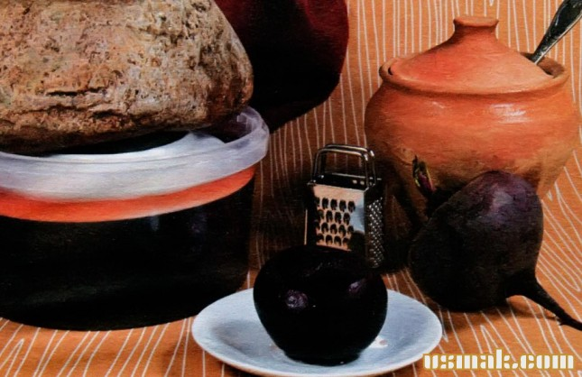 Рецепт Квашеная свекла