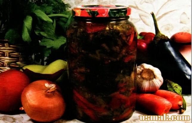 Рецепт Квашеный салат из овощей