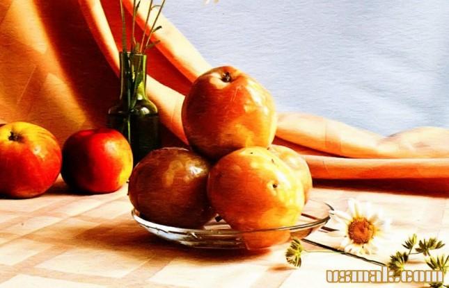 Рецепт Моченые яблоки в банках