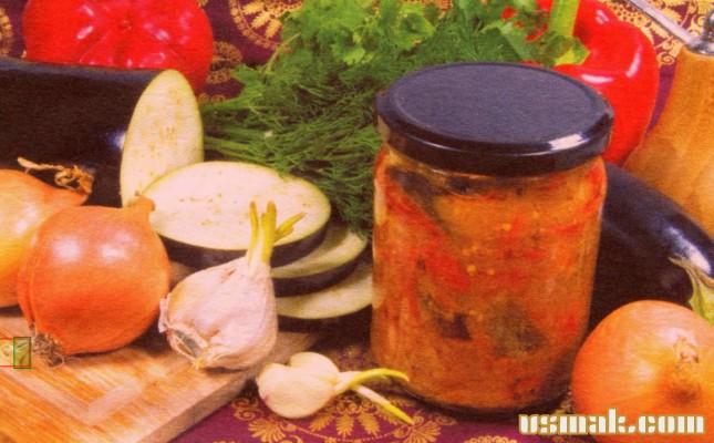 Рецепт Баклажаны в томатном соусе