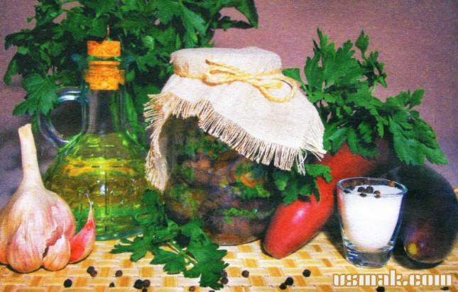 Рецепт Фондю из баклажанов