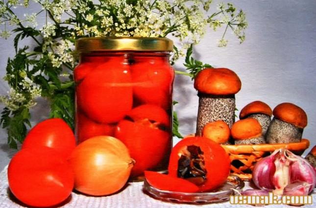 Рецепт Салат на зиму из помидор