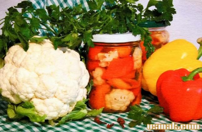 Рецепт Болгарский перец на зиму заготовка
