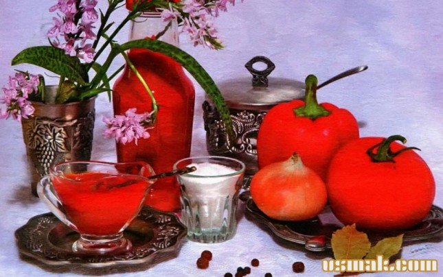 Рецепт Паста из помидоров и перца