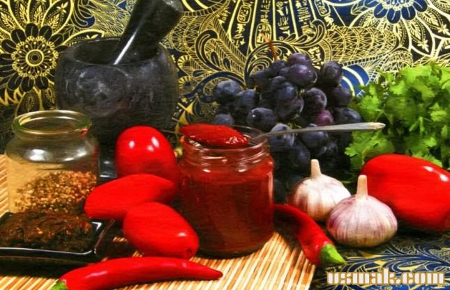 Рецепт Сацебели на зиму