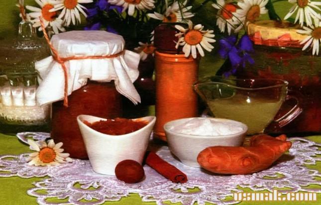 Рецепт Медово имбирный соус
