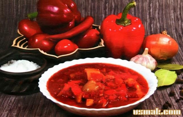 Рецепт Лечо без уксуса