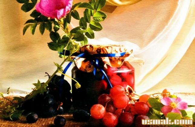 Рецепт Компот на зиму из винограда