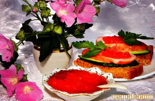 Рецепт Острый томатный соус