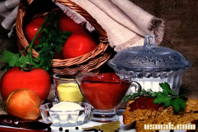 Рецепт Томатная паста острая