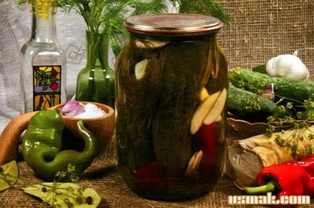 Рецепт Острые огурчики