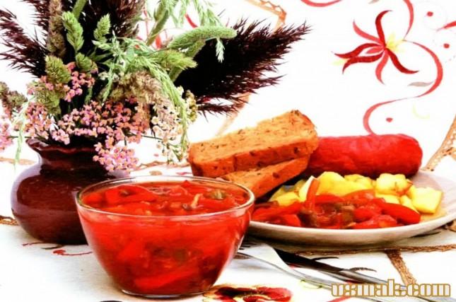 Рецепт Лечо на зиму из помидоров и переца