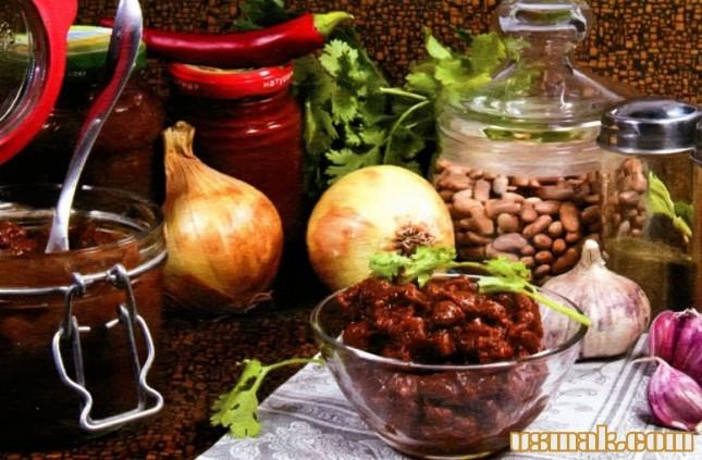 Рецепт Острая фасоль