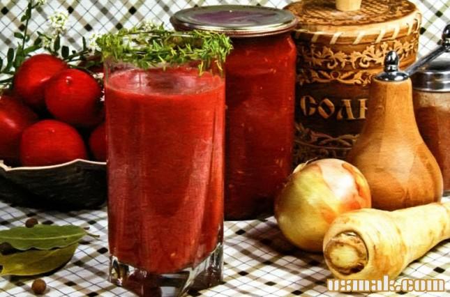 Рецепт Острый томатный напиток