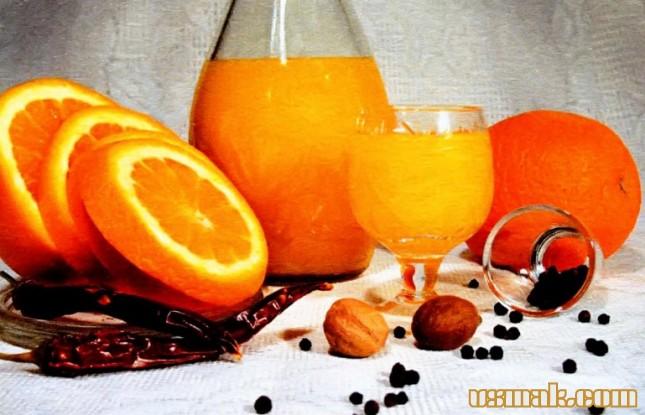 Рецепт Апельсиновый ликер