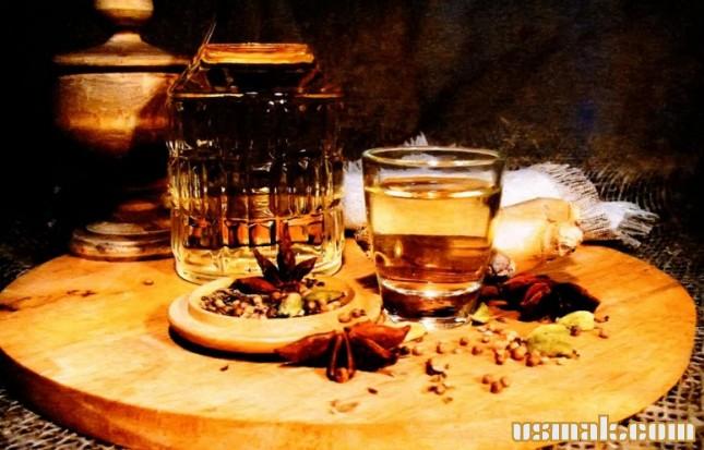 Рецепт Водка с пряностями