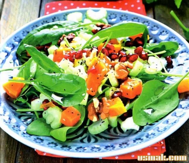 Рецепт Вкусный овощной салат