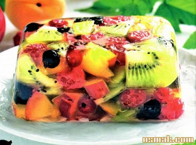 рецепт фруктового желе