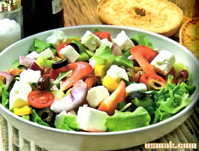 Рецепт Классический греческий салат