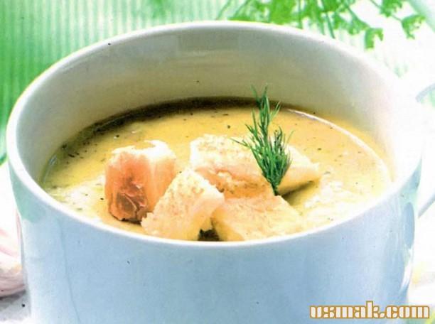 Рецепт Суп пюре грибной со сливками
