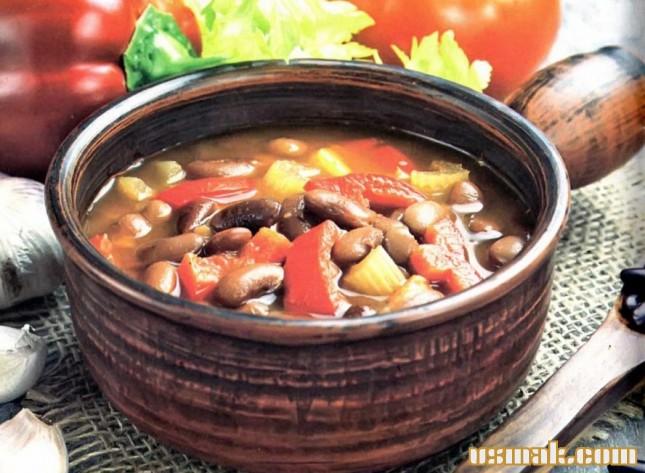 гороховый суп из сухого рецепт