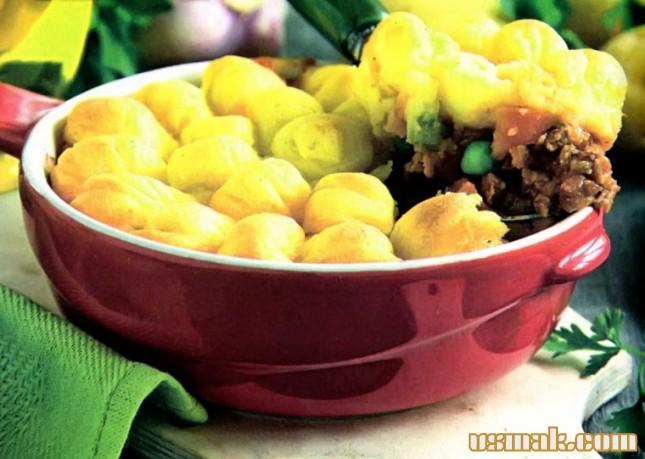 Рецепт Мясная запеканка с картофелем