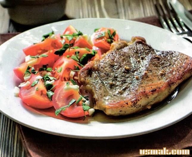Рецепт Свинина запеченная в духовке в фольге