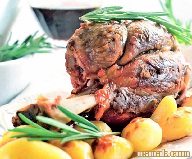 Рецепт Рулька свиная запеченная в духовке