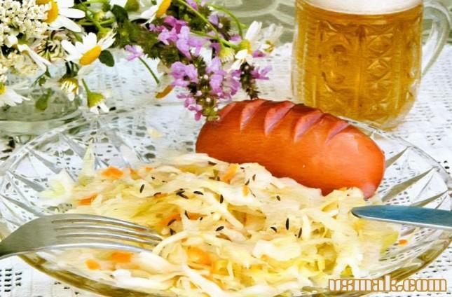 Рецепт Квашеная капуста по немецки