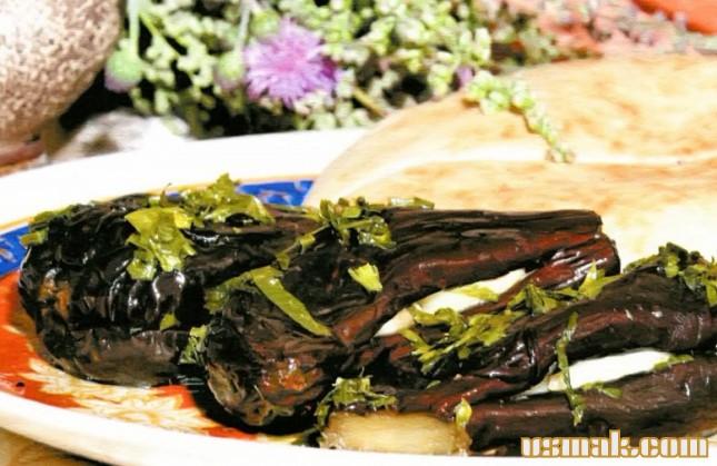 Рецепт Вкусные баклажаны на зиму