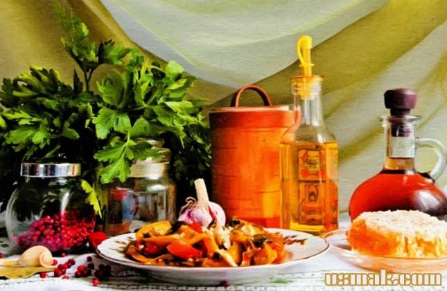 Рецепт Маринованный болгарский перец с медом