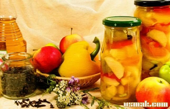 Рецепт Болгарский перец с яблоками