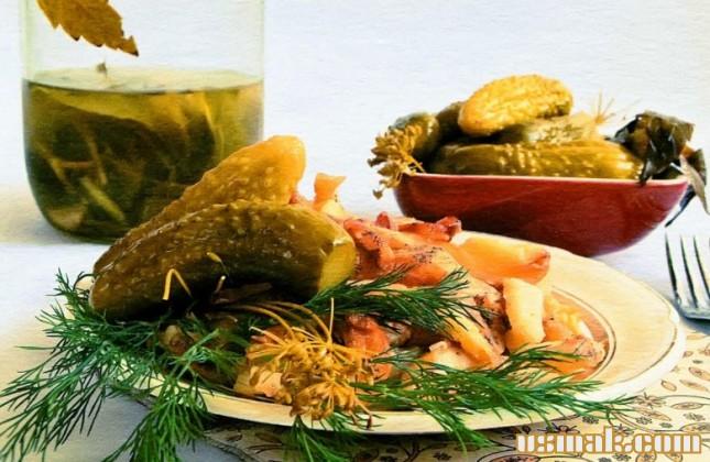 Рецепт Вкусные огурцы маринованные на зиму