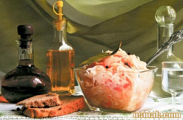 Рецепт Капуста белокочанная маринованная