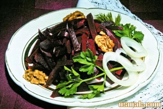Рецепт Свекла маринованная салат